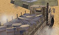 Lkw-Fahrer in der Armee